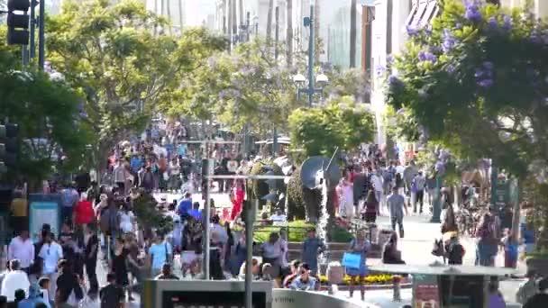 Crowded Santa Monica
