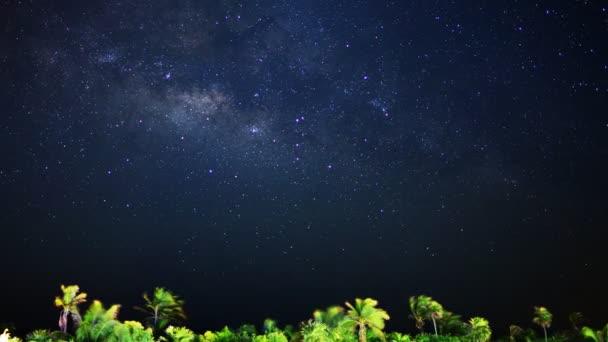 galaxie Mléčné dráhy  měsíc vzestup