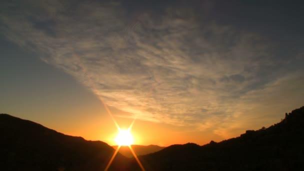 pouštní sunrise