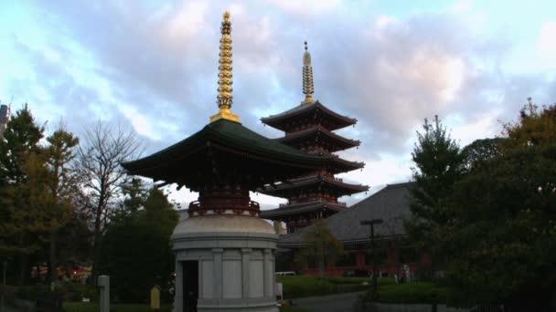 japonské historické budovy