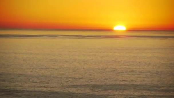 Sunset on Ocean Horizon