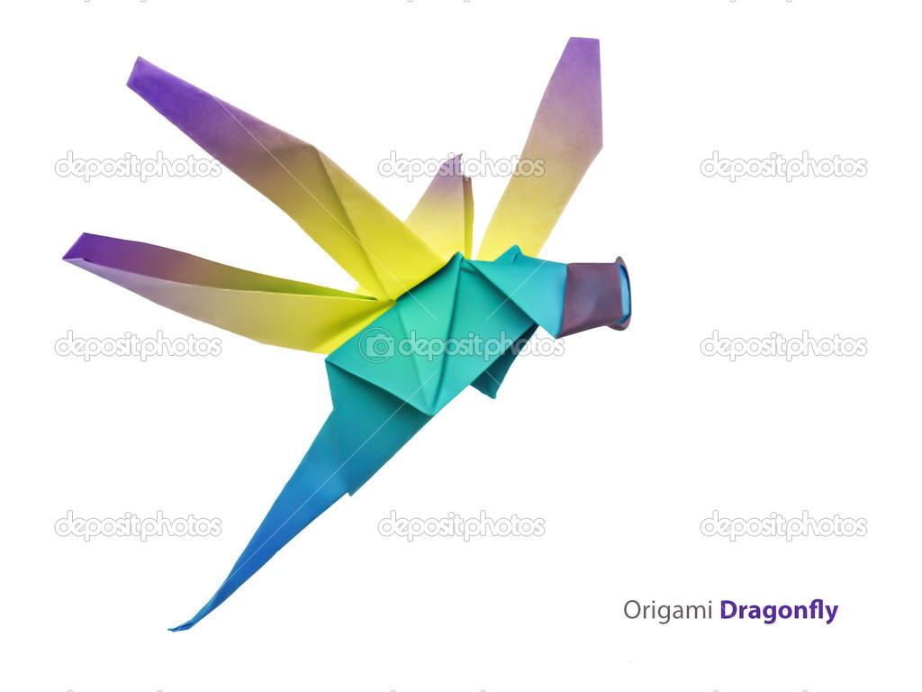 Origami dragonfly stock photo mandrixta 41279869 origami dragonfly stock photo jeuxipadfo Image collections