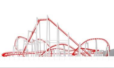 3d roller-coaster