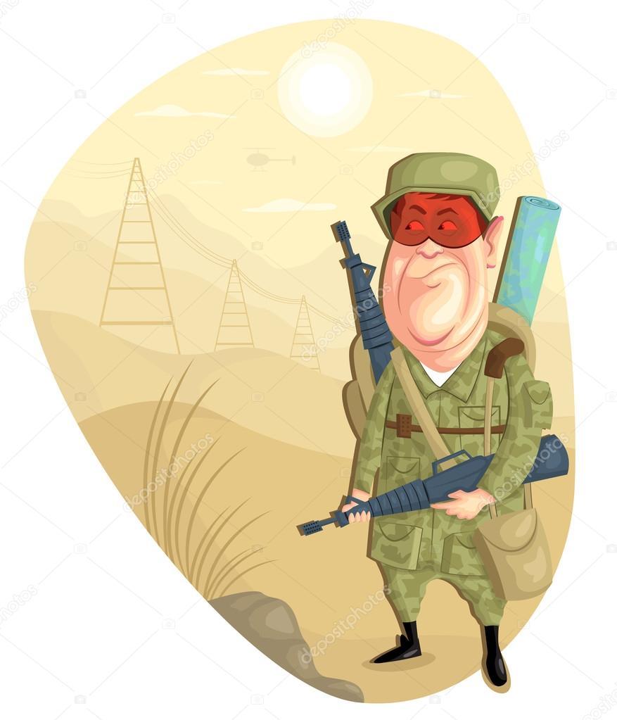 軍隊の人 ストックベクター Stockillustration 49756455