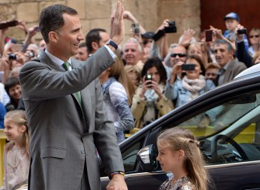 Prince Felipe, son of King Juan Carlos I of Spain