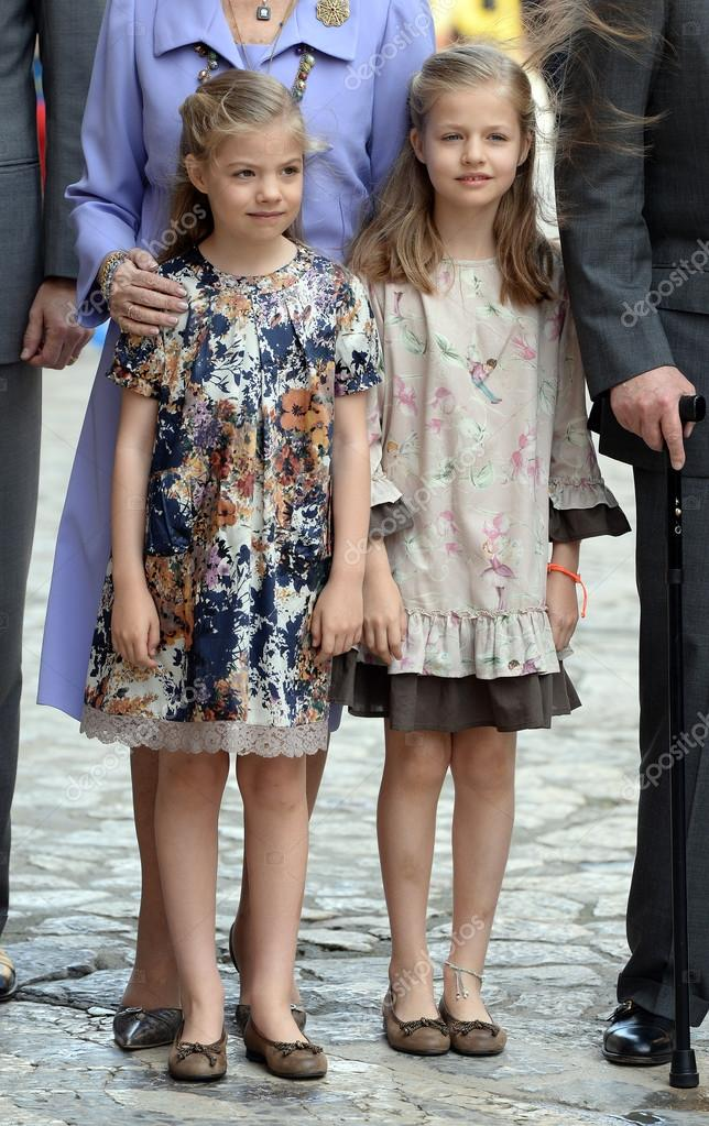The Spanish royal family in Mallorca