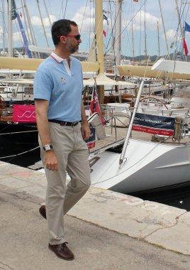 Prince Felipe, son of King Juan Carlos I of Spain