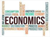 Photo ECONOMICS - word cloud