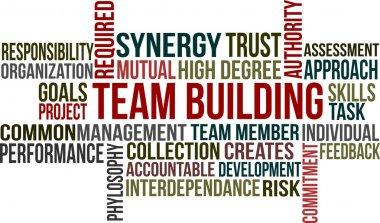 TEAM BUILDING - word cloud