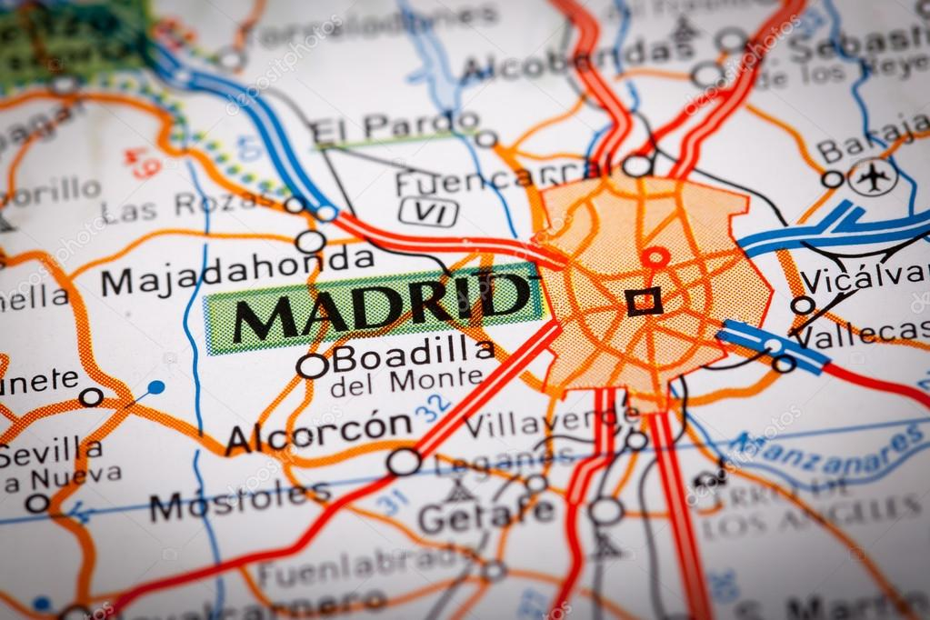 Madrid, Spain — Stock Photo © marcoscisetti #45854771