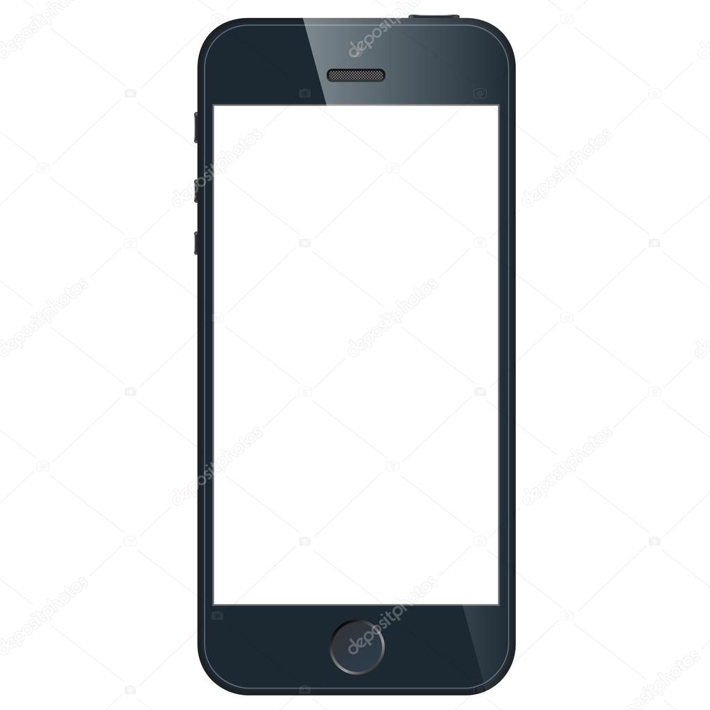 Sfondo Da Telefono Vettore Di Affari Nero Telefono Cellulare In