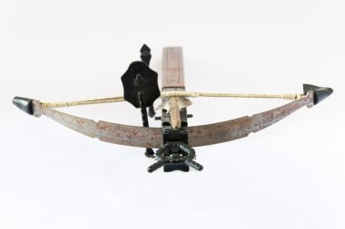 wooden crossbow made in Italy