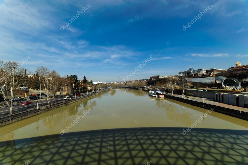 River Mtkvari (Kura) & Tbilisi