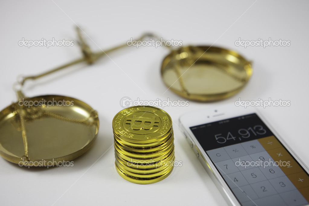 Bitcoin counting concept