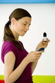 Photo TEST FOR DIABETES, WOMAN