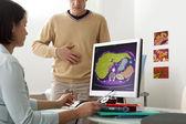 Fotografie Angiologie konzultace muž