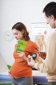 Photo TEST FOR DIABETES PREGNANT WOMAN