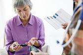 test na cukr pro ženu