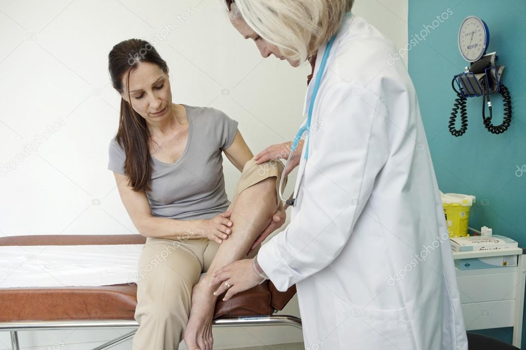 Consultation with a doctor