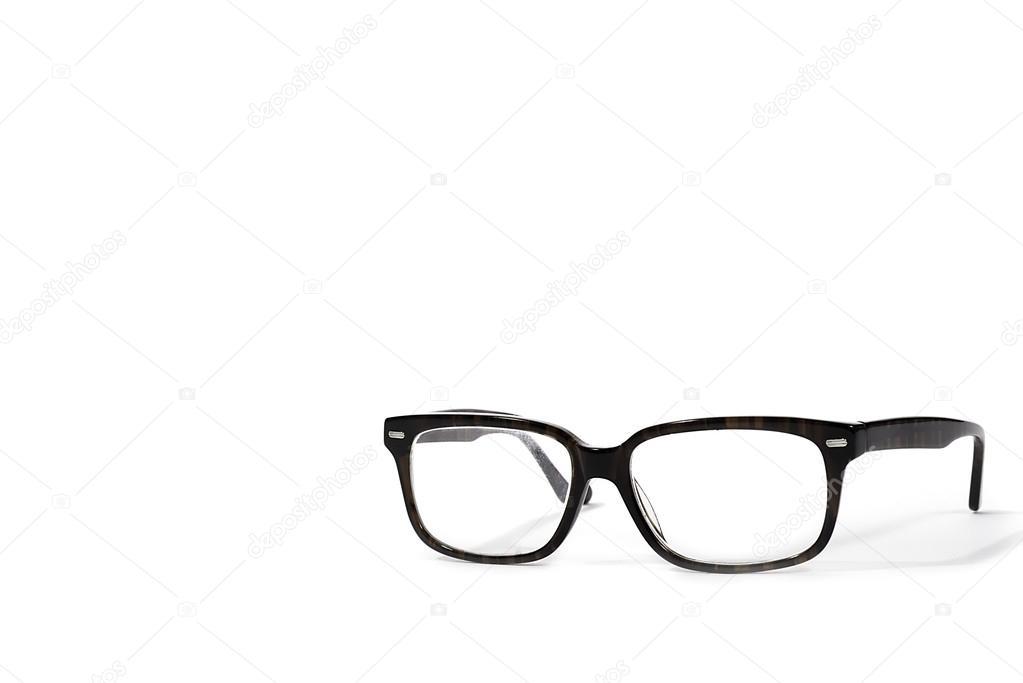 1be4d918e71336 Eine Brille retro Vintage isoliert auf weißem Hintergrund — Foto von ...