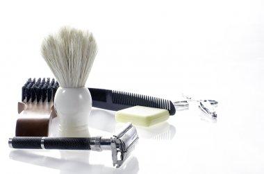 Men's grooming supplies