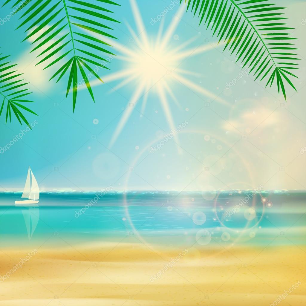ビンテージ夏ビーチ デザイン ストックベクター glush2502 45759015