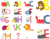 Alphabet a-m
