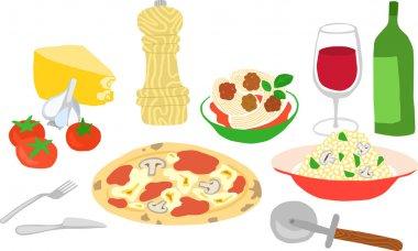 Italian Food Set