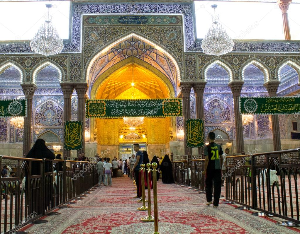 The shrine of Imam Hussein in Karbala – Stock Editorial