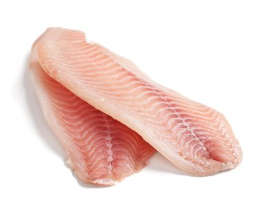 Raw Filleted Tilapia Fish