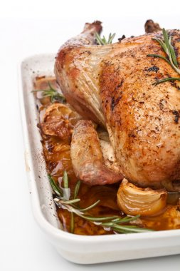 Roasted stuffed turkey (chicken )