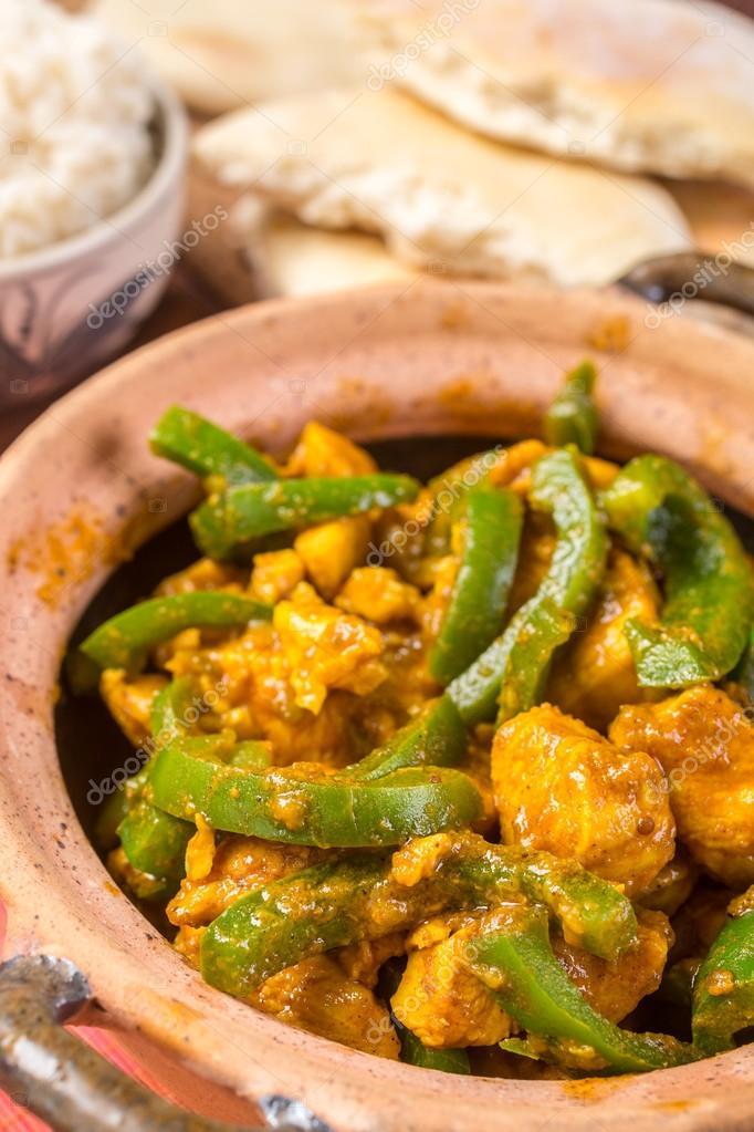 Chicken Jalfrezi Indian Or Pakistani Curry Stock Photo Image By C Nalga 41986317