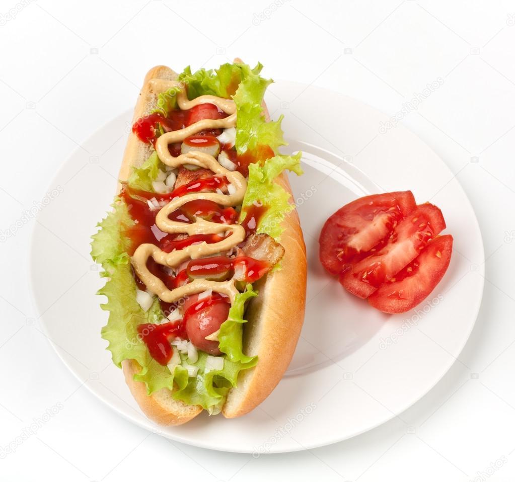 Hot Dog Ketchup Chicago