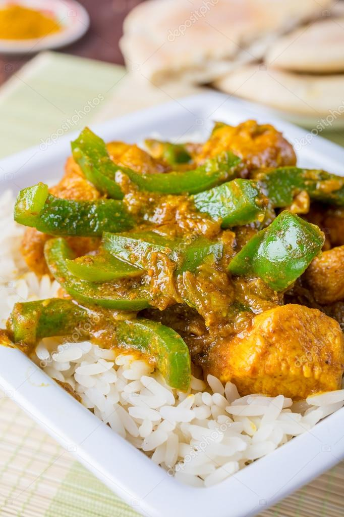 Chicken Jalfrezi Indian Or Pakistani Curry Stock Photo C Nalga 41987103