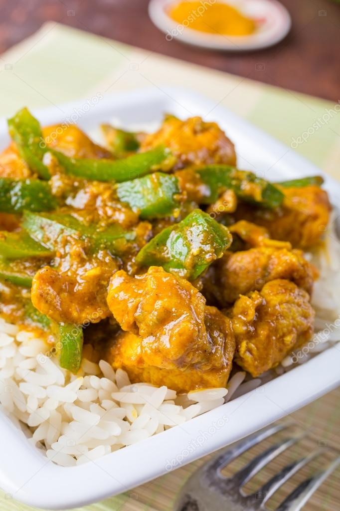 Chicken Jalfrezi Indian Or Pakistani Curry Stock Photo C Nalga 41999877