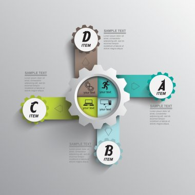 Seo optimization mechanism infographics
