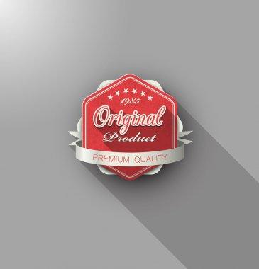 Original product label premium quality