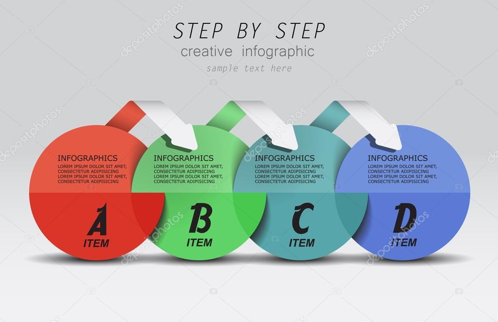 Infographics vector creative design