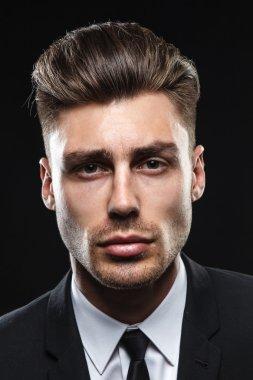 Attractive man in studio