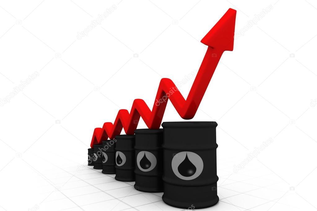 214lf228ssern mit zunehmender pfeil steigenden 214lpreis