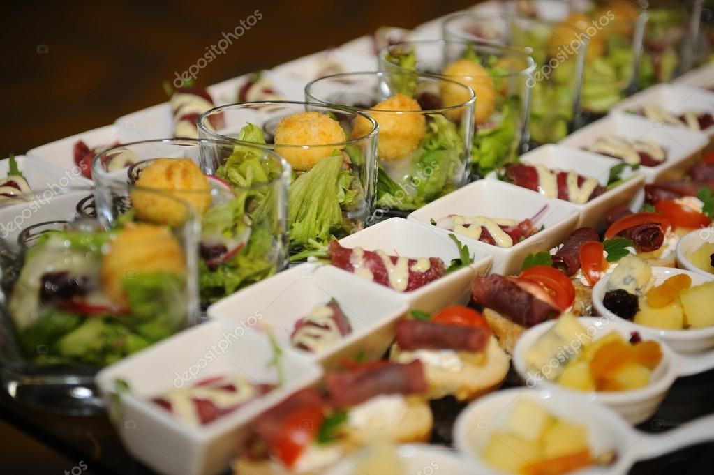 Finger food arrangement food catering stock photo for Arrangement petite cuisine