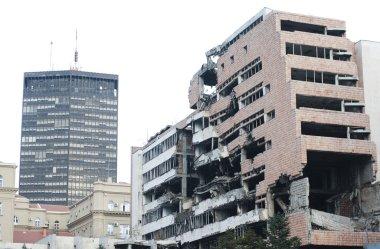 Ruin of war - demolished building