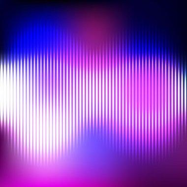 Digital Equalizer. Vector illustration