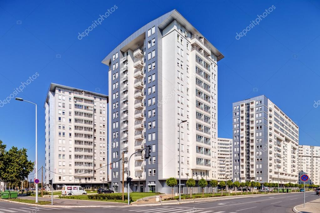 New complex of residential buildings