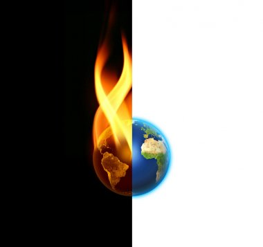 World contrast between Good and Evil