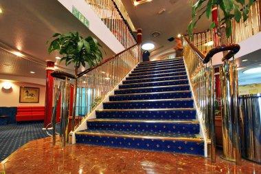 Luxury Golden Stairs