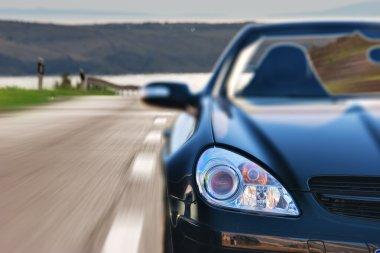 Fast Sport Mercedes Car