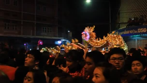 Golden dragon show for Chinese New Year 2014 celebrations