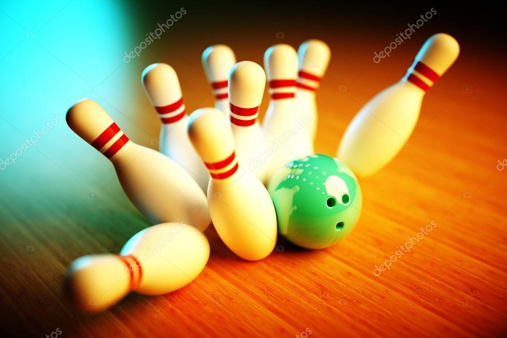 3D bowling image