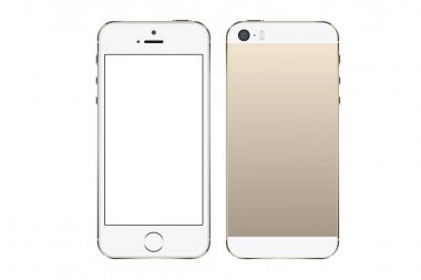Smart phone vector in iphone style